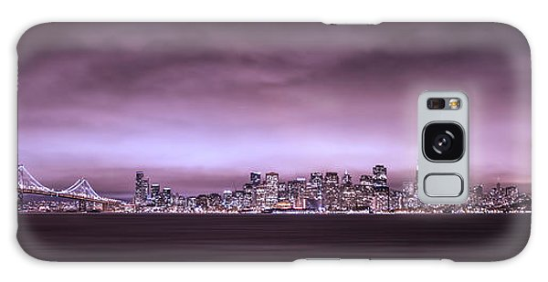 San Fransisco Cityscape Panorama Galaxy Case