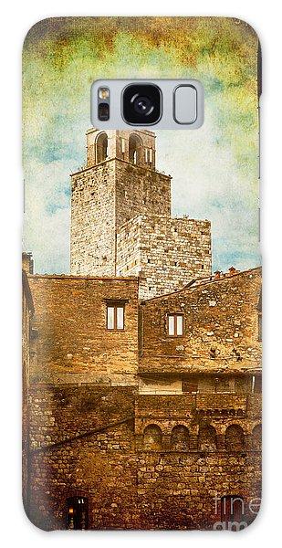 San Gimignano Italy Galaxy Case