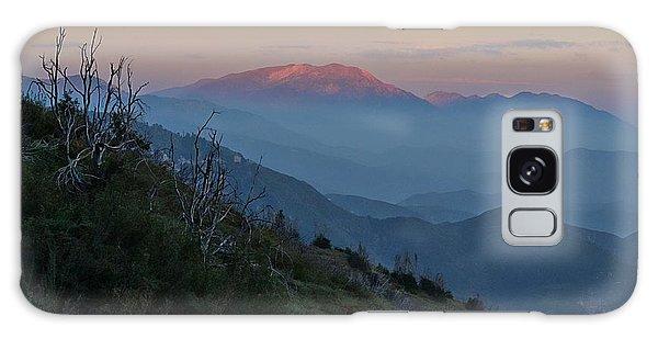San Jacinto Sunset Galaxy Case