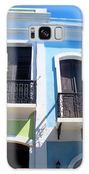 San Juan Balconies Galaxy Case by Rod Seel