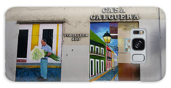 San Juan - Casa Galguera Mural Galaxy Case by Richard Reeve