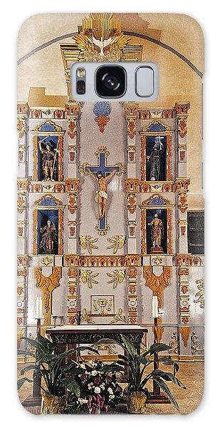San Juan Mission Altar Galaxy Case by Andy Crawford