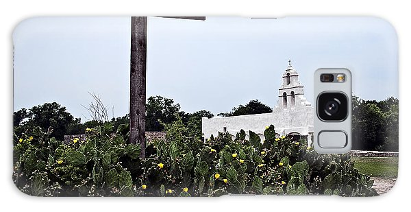 San Juan Mission Galaxy Case by Andy Crawford