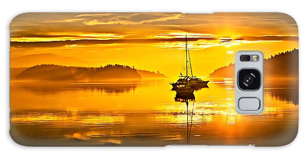Haybale Galaxy Case - San Juan Sunrise by Robert Bales