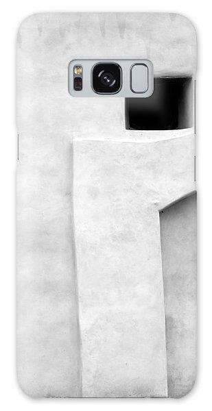 San Juan Wall Abstract 1 Bw Galaxy Case