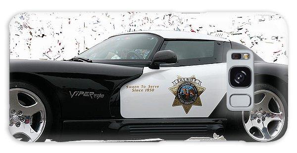 San Luis Obispo County Sheriff Viper Patrol Car Galaxy Case