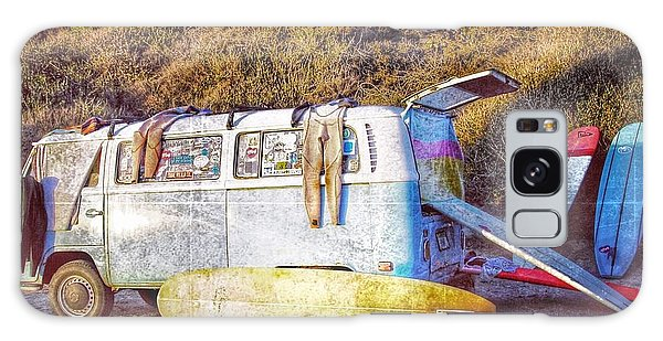 Vw Bus Galaxy Case - The Surfing Life by Hal Bowles