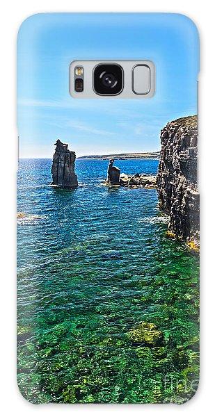 San Pietro Island - Le Colonne Galaxy Case