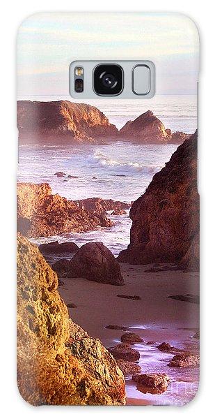 San Simeon Coastal View Galaxy Case by Michael Rock