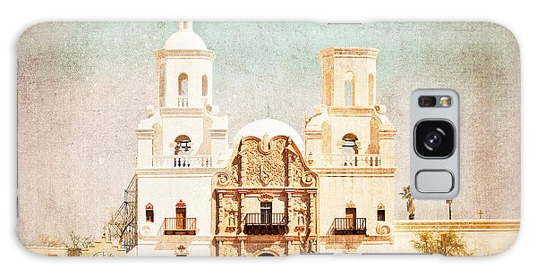 San Xavier Del Bac Mission Galaxy Case by Marianne Jensen