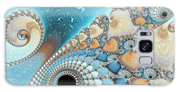 Sand And Sea Galaxy Case