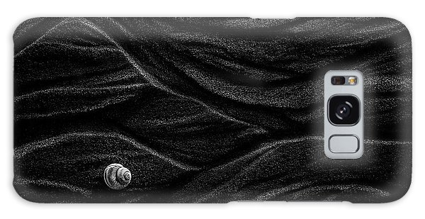 Texture Galaxy Case - Sand And Shell by Stephen Clough
