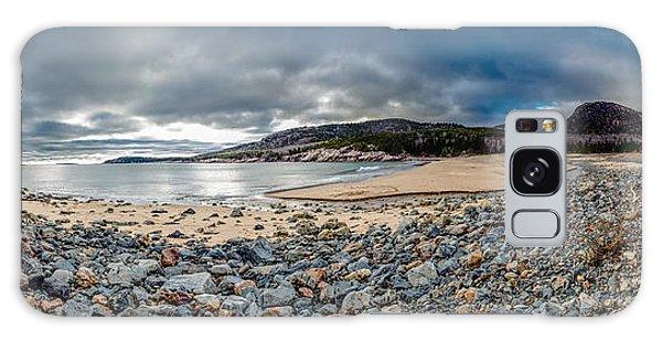 Sand Beach At Acadia Galaxy Case