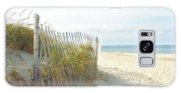 Sand Beach Ocean And Dunes Galaxy Case