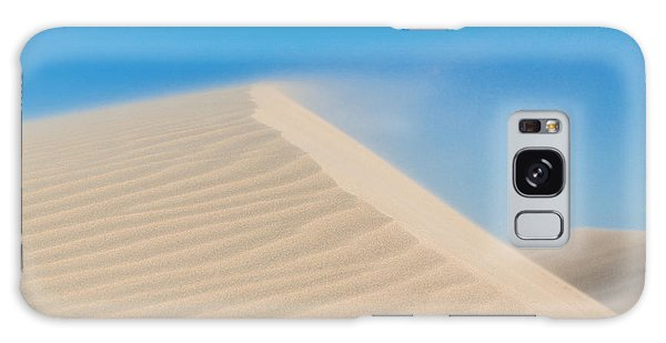 Sand Blowing Off A Dune Galaxy Case