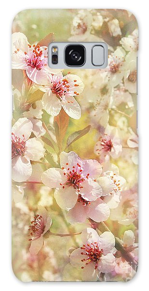 Sand Cherry Flourish Galaxy Case