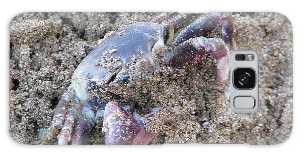 Sand Crab Galaxy Case by Michael Krek