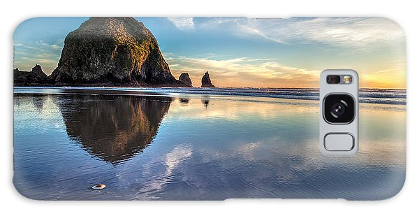 Cannon Galaxy Case - Sand Dollar Sunset Repose by Mike Reid