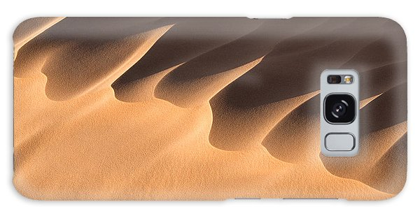 Caravan Galaxy Case - Sand Dune Detail by Delphimages Photo Creations