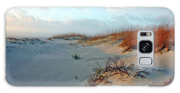 Sand Dune On Tybee Island Galaxy Case