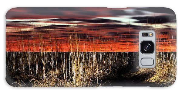 Sand Dune Sunrise Galaxy Case by JC Findley