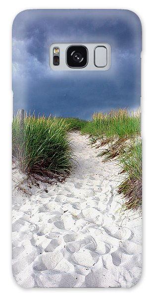 Sand Galaxy Case - Sand Dune Under Storm by Olivier Le Queinec