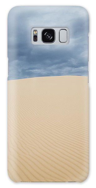 Sand Dunes And Dark Clouds Galaxy Case