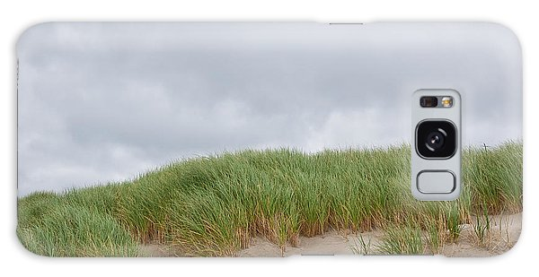 Sand Dunes And Grass Galaxy Case