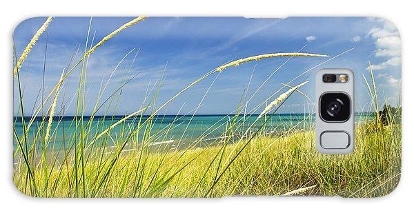Peaceful Galaxy Case - Sand Dunes At Beach by Elena Elisseeva