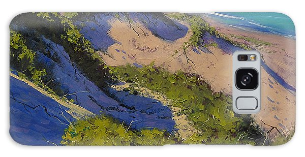 Dunes Galaxy Case - Sand Dunes Oil Painting by Graham Gercken