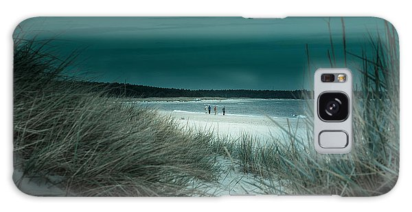 Sand Dunes On The Baltic Coast Of Oland At Boda Sand Sweden Galaxy Case