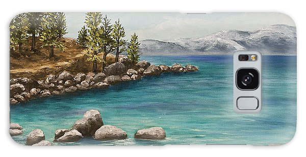 Sand Harbor Lake Tahoe Galaxy Case