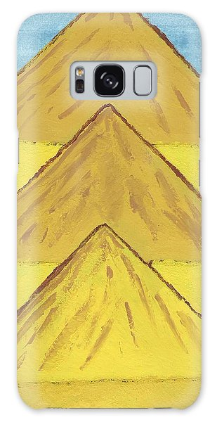 Sand Mountains Galaxy Case by Tracey Williams