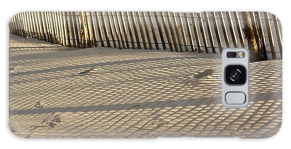 Sand Patterns Galaxy Case