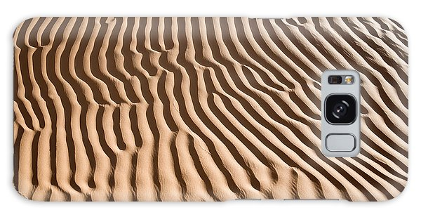 Caravan Galaxy Case - Sand Ripples by Delphimages Photo Creations