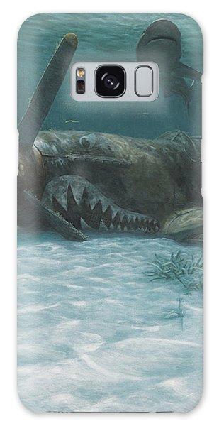 Scuba Diving Galaxy Case - Sand Shark by Randall Scott
