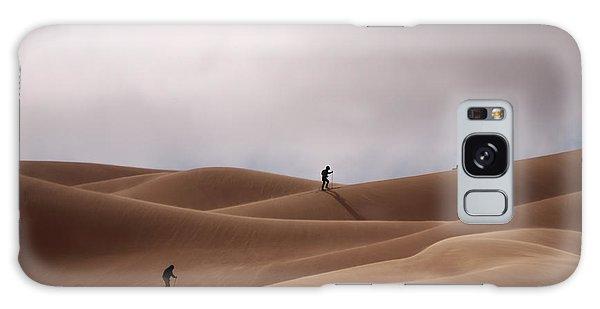 Sand Skiing Galaxy Case