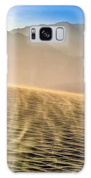 Sand Storm In The Mesquite Dunes Galaxy Case