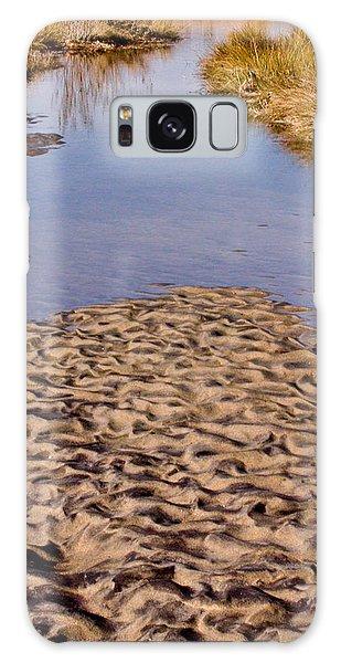 Sandform At Sand Hook Galaxy Case by Gary Slawsky