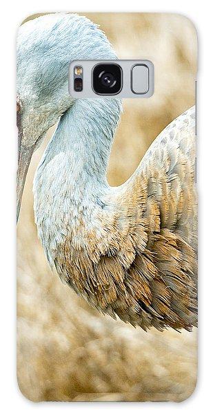 Sandhill Crane Galaxy Case by Michele Wright