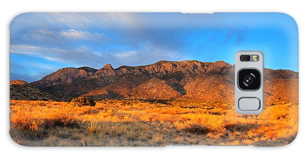Sandia Crest Sunset Galaxy Case by Alan Vance Ley