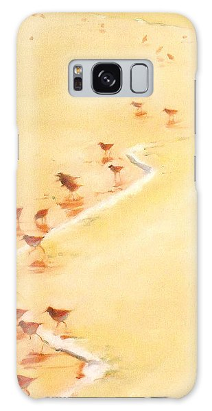 Sandpiper Promenage Galaxy Case by Mary Hubley