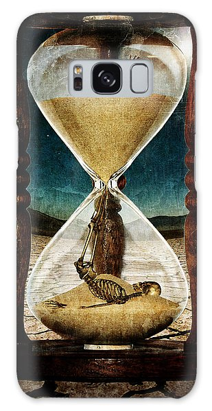 Surreal Digital Art Galaxy Case - Sands Of Time ... Memento Mori  by Marian Voicu