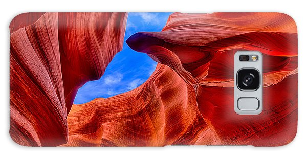 Sandstone Curves In Antelope Canyon Galaxy Case