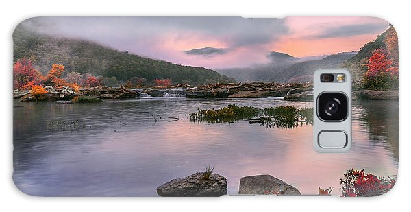 Sandstone Falls At Dawn Galaxy Case