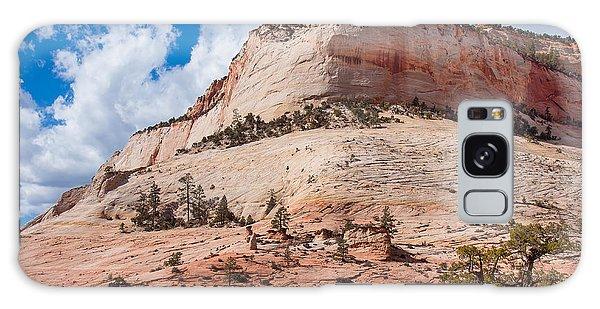 Sandstone Mountain Galaxy Case by John M Bailey