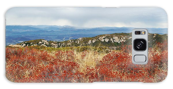 Galaxy Case featuring the photograph Sandstone Peak Fall Landscape by Kyle Hanson