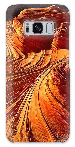 Sandstone Silhouette Galaxy Case by Adam Jewell