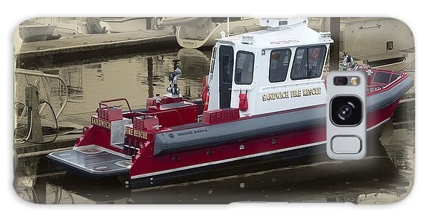 Sandwich Cape Cod Fire Rescue Boat Galaxy Case by Constantine Gregory