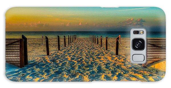 Sandy Beach Galaxy Case